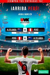 Eliminatorias: Nueva Zelanda vs Perú