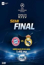 UEFACHL Bayern vs Real Madrid